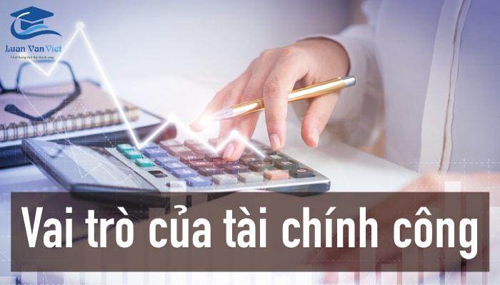 Hình ảnh vai trò của tài chính công 1