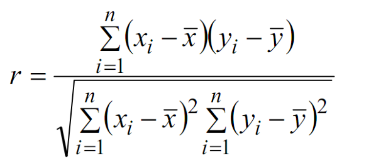Ảnh 1 - Công thức tính hệ số tương quan