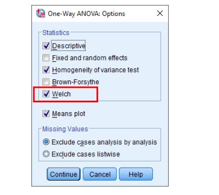 Ảnh 10 - Kiểm định Welch
