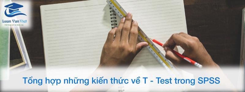 Tổng hợp những kiến thức về T - Test trong SPSS
