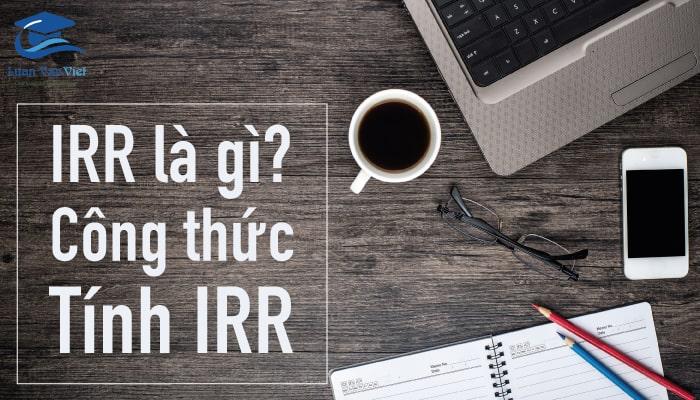 Hình ảnh IRR là gì 1