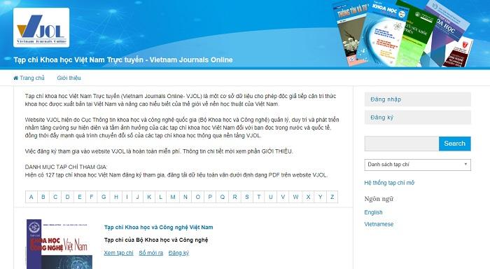 Trang chủ Vietnam Journals Online